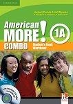 American More! - ниво 1 (A1): Учебник и учебна тетрадка - Combo А + CD / CD-ROM - помагало