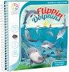 """Flippin' Dolphins - Детска логическа игра от серията """"Magnetic Travel Games"""" -"""