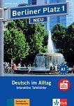 Berliner Platz Neu - ниво 1: Интерактивна версия на учебника - CD-ROM - учебник