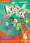 Kid's Box - Ниво 4: Флаш карти Учебна система по английски език - Second Edition -