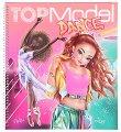 Топ модел: Dance - книжка за оцветяване - детска книга