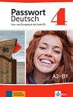 Passwort Deutsch Neu - ниво 4 (A2 - B1): Учебник и учебна тетрадка Учебна система на немски език -