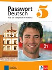 Passwort Deutsch Neu - ниво 5 (B1): Учебник и учебна тетрадка Учебна система на немски език -