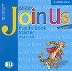 Join Us for English: Учебна система по английски език : Ниво Starter: CD с аудиоматериали за упражненията от учебника - Gunter Gerngross, Herbert Puchta - продукт