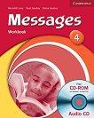 Messages: Учебна система по английски език : Ниво 4 (B1): Учебна тетрадка + CD - Diana Goodey, Noel Goodey, Meredith Levy -