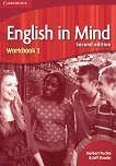 English in Mind - Second Edition: Учебна система по английски език : Ниво 1 (A1 - A2): Учебна тетрадка - Herbert Puchta, Jeff Stranks - учебник