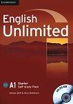 English Unlimited - Starter (A1): Учебна тетрадка по английски език + DVD-ROM - Adrian Doff, Nick Robinson - учебник