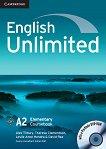 English Unlimited - ниво Elementary (A2): Учебник + DVD-ROM Учебна система по английски език - учебник