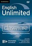 English Unlimited - Intermediate (B1 - B2): DVD-ROM по английски език с интерактивна версия на учебника - David Rea, Theresa Clementson, Alex Tilbury, Leslie Anne Hendra -