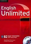 English Unlimited - Upper Intermediate (B2): Учебна тетрадка по английски език + DVD-ROM - Rob Metcalf, Chris Cavey, Alison Greenwood -