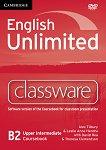 English Unlimited - Upper-Intermediate (B2): DVD-ROM по английски език с интерактивна версия на учебника - Alex Tilbury, Leslie Anne Hendra, David Rea, Theresa Clementson -