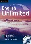 English Unlimited - ниво Advanced (C1): Учебник по английски език + DVD-ROM - Adrian Doff, Ben Goldstein -