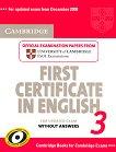 Cambridge First Certificate in English for updated exam 3: Учебник -