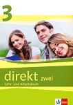 Direkt zwei - ниво 3 (B1): Учебник и учебна тетрадка за 11. клас + 2 CD : Учебна система по немски език - Georgio Motta, Beata Cwikowska -