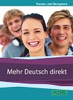 Mehr Deutsch direkt - Помагало с теми и упражнения по немски език (B1-B2) + 2CD - Beata Ćwikowska, Beata Jaroszewicz, Anna Wojdat-Niklewska - помагало