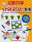 Крокотак - 3 - 5 години : 180 занимания и игри -