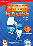 Playway to English - ниво 2: Учебна тетрадка по английски език + CD-ROM Second Edition - учебник