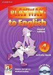 Playway to English - ниво 4: Учебна тетрадка по английски език + CD-ROM : Second Edition - Herbert Puchta, Gunter Gerngross -