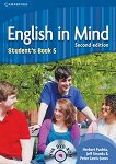 English in Mind - Second Edition: Учебна система по английски език : Ниво 5 (C1): Учебник + DVD-ROM - Herbert Puchta, Jeff Stranks, Peter Lewis-Jones - учебна тетрадка