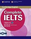 Complete IELTS: Учебна система по английски език Bands 5 - 6.5 (B2): Учебна тетрадка с отговори + CD - учебна тетрадка