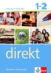 Direkt - ниво 1 - 2 (A1 - B1): Интерактивно помагало за 8. клас - CD-ROM Учебна система по немски език -