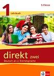 Direkt zwei - ниво 1 (A1): Учебник и учебна тетрадка по немски език за 9. клас + 2 CD -