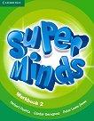 Super Minds - ниво 2 (Pre - A1): Учебна тетрадка + онлайн материали по английски език - Herbert Puchta, Gunter Gerngross, Peter Lewis-Jones -