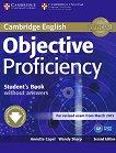 Objective - Proficiency (C2): Учебник с допълнителен софтуер от сайта на Кеймбридж : Учебен курс по английски език - Second Edition - Annette Capel, Wendy Sharp -