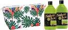 Подаръчен комплект с несесер - Nature Box Avocado Oil - Душ гел и лосион за тяло -