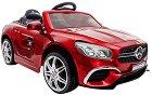Детска акумулаторна кола - Mercedes SL63 Metallic - В комплект с дистанционно управление -