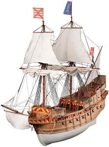Флагмански кораб - San Martin - Сглобяем модел на кораб от дърво -