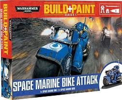 "Space Marine Bike Attack - Сглобяем модел от серията ""Warhammer 40000: Build + Paint"" -"