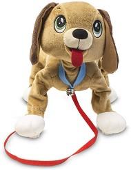 """Домашен любимец за разходка - Кученце - Плюшена играчка от серията """"Peppy Pups"""" -"""