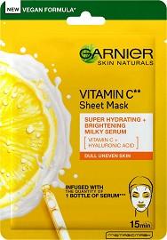 Garnier Vitamin C Sheet Mask - Хартиена маска с витамин C и хиалуронова киселина -