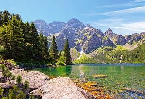 Езеро Морското око - Татрите, Полша -