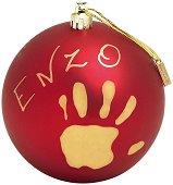 """Коледна топка - My Christmas Fairy - Комплект за създаване на отпечатъци от серията """"Special"""" - продукт"""