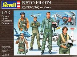Пилоти от армията на NATO - макет