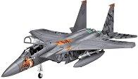 Изтребител - F-15Е - Сглобяем авиомодел - комплект с лепило и бои - макет