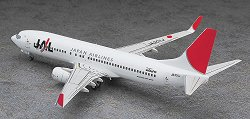 """Пътнически самолет - Boeing 737-800 """"JAL"""" - Сглобяем авиомодел -"""