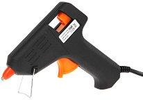 Пистолет за топло лепене + 2 силиконови пръчки - макет