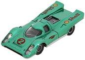 Porsche 917 - Метална количка с отварящ се капак - играчка