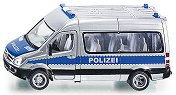 """Полицейски микробус - Mercedes Sprinter - Метална количка от серията """"Super: Police"""" -"""