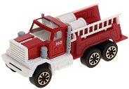 Пожарна кола с две стълби - играчка
