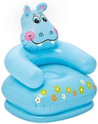 Кресло - Хипопотамче - Надуваема играчка - играчка