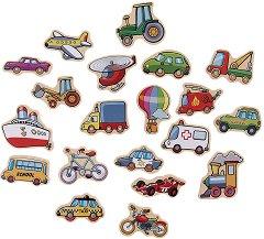 Магнити превозни средства - играчка