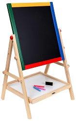 Двустранна дъска за писане - Образователна играчка - творчески комплект