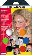 Бои за рисуване върху лице - Артисти - Комплект от 6 цвята
