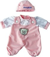 Ританки и шапка - Дрешки за кукла бебе - играчка