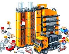 """Циментов завод - Детски конструктор от серията """"BanBao Construction"""" -"""