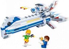 """Космически кораб - Детски конструктор от серията """"BanBao Journey V"""" -"""
